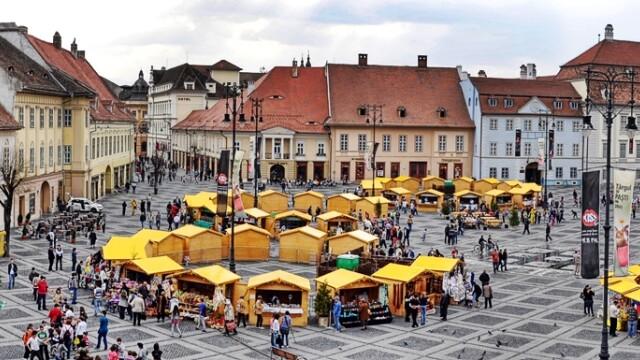 targ la Sibiu, Piata Mare
