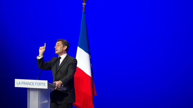 Alegeri Franta 2012. Nicolas Sarkozy - \
