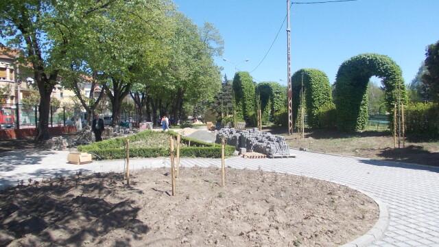 parc rozelor