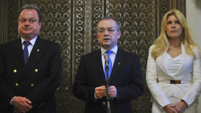 Vasile Blaga, Emil Boc si Elena Udrea | PDL
