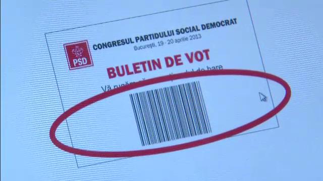 sistem electronic de vot, PSD