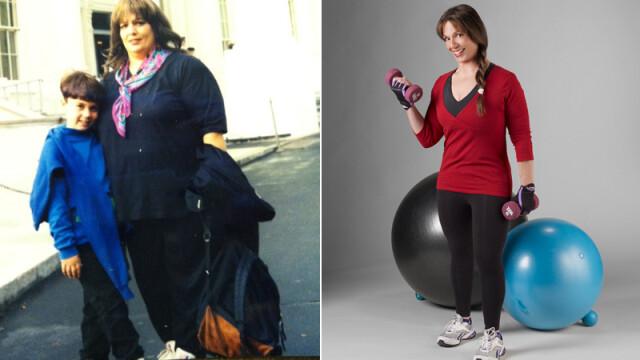 """""""Fiul mi-a spus ca ii este rusine cu mine si m-am trezit"""". Cum arata femeia dupa ce a slabit 85 kg - Imaginea 3"""