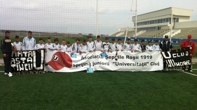 juniori, U Cluj