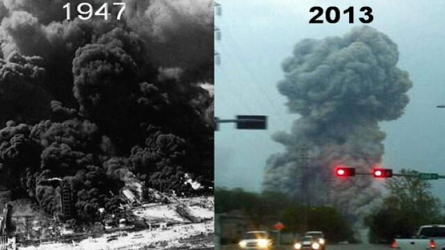 Coincidenta bizara: Texas, legat de cel mai mare dezastru industrial din istoria Statelor Unite