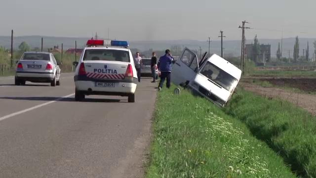 DN Cluj - Bistrita, scena unor accidente in lant. Ce s-a intamplat cu persoanele implicate