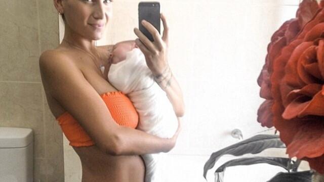 Cum arata, dupa ce a nascut, femeia care a mancat in timpul sarcinii doar banane si salata. FOTO