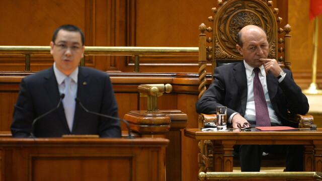 Victor Ponta, Traian Basescu
