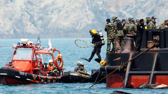 Tragedia din Coreea de Sud. Proprietarul feribotului sud-coreean naufragiat in aprilie a fost gasit mort