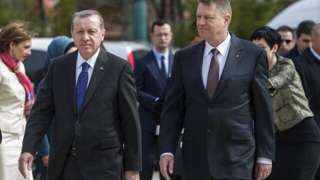 Imagini de la intalnirea lui Klaus Iohannis cu presedintele turc Recep Tayyip Erdogan. GALERIE FOTO - Imaginea 4