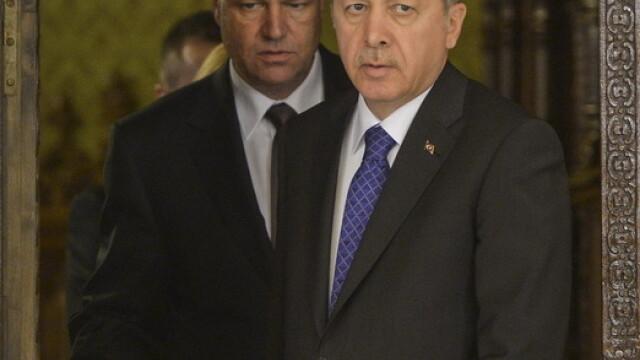 Imagini de la intalnirea lui Klaus Iohannis cu presedintele turc Recep Tayyip Erdogan. GALERIE FOTO - Imaginea 5