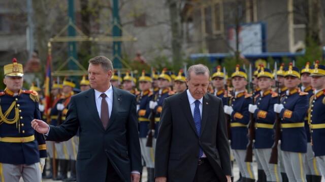 Imagini de la intalnirea lui Klaus Iohannis cu presedintele turc Recep Tayyip Erdogan. GALERIE FOTO - Imaginea 6