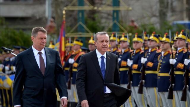 Imagini de la intalnirea lui Klaus Iohannis cu presedintele turc Recep Tayyip Erdogan. GALERIE FOTO - Imaginea 7