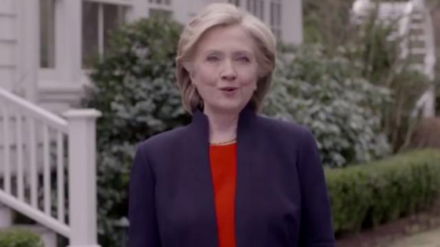Videoclipul de campanie al lui Clinton, \