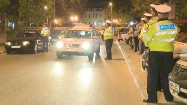 Razie de amploare pe strazile Capitalei. Tineri prinsi drogati la volan cu noul test antidrog, introdus in urma cu 3 luni