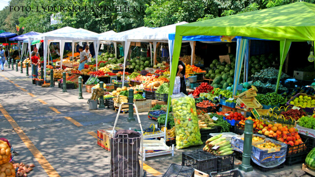 piata din Bucuresti