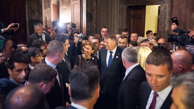 Klaus Iohannis in Italia - Admin. Prezidentiala