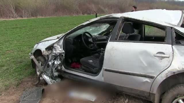 Tanar de 24 de ani, mort intr-un accident rutier, in timp ce incerca sa scape de politie. Ce s-a intamplat cu cealalt pasager