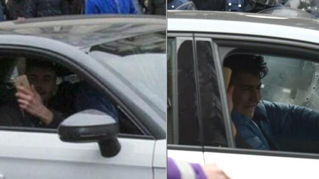 Cine sunt tinerii care au intrat cu masina intr-o femeie musulmana, sambata, in cartierul Molenbeek din Bruxelles. VIDEO
