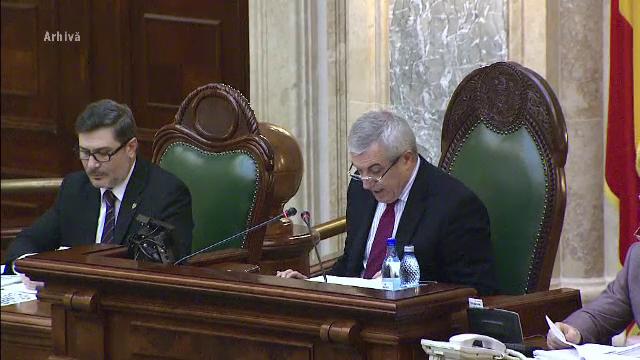 Calin Popescu Tariceanu este greu de demis. Seful Senatului a scapat la doar 2 semnaturi de emotiile unei demiteri