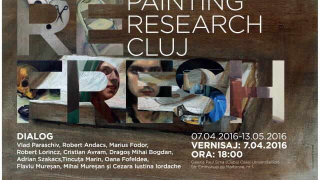 "Expozitia de pictura ""RE FRESH – PAINTING/ RESEARCH/ CLUJ "", desfasurata la UBB"