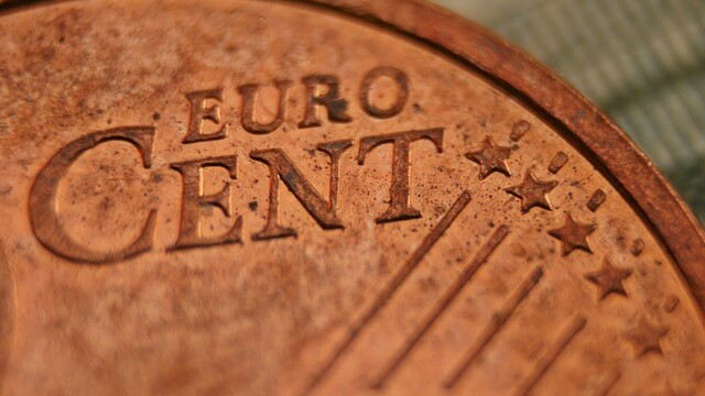 eurocent, cupru