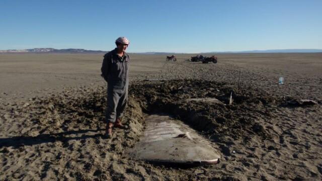 Ce s-a descoperit pe fundul unui lac secat din Argentina. Au murit in urma cu mai bine de 50 de ani