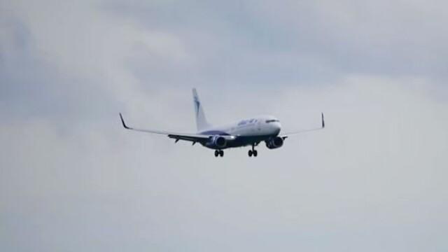 Un avion Blue Air plecat din Bucuresti, implicat intr-un incident dramatic. Ce s-a intamplat la aterizare