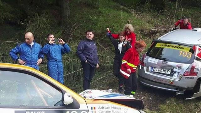 In ce stare se afla copilotii raniti in accidentul de la Raliul Sibiului. \