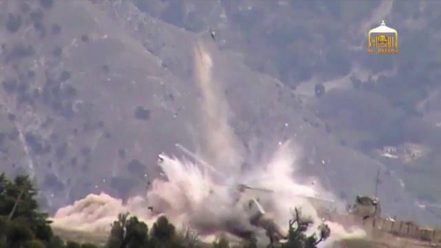 Talibanii au aruncat in aer un elicopter militar in Afganistan. Imaginile au fost publicate online