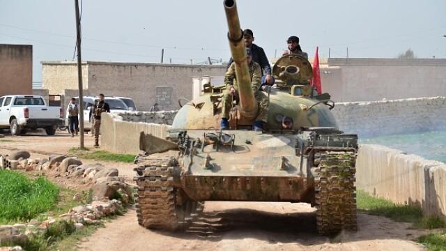 Infruntari in nordul Siriei. Statul Islamic a reusit sa avanseze si a cucerit un teritoriu strategic