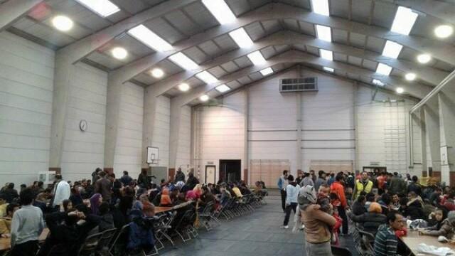 Alerta cu bomba intr-o tabara de refugiati din Belgia. Politia a evacuat cladirea dupa primirea unei scrisori anonime