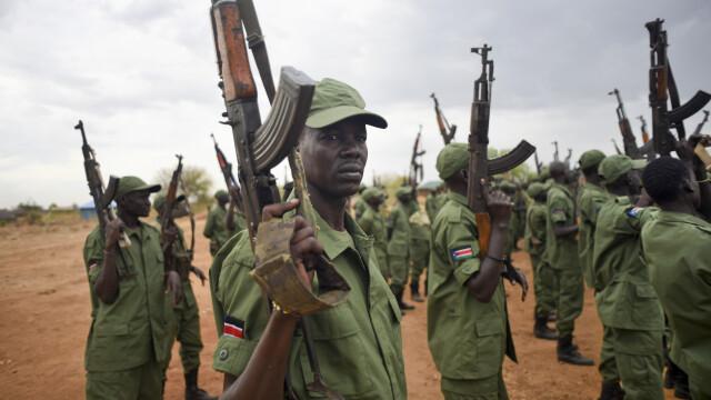 Rebeli din Sudanul de Sud - AGERPRES