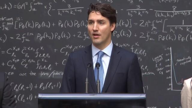 Justin Trudeau - captura Youtube