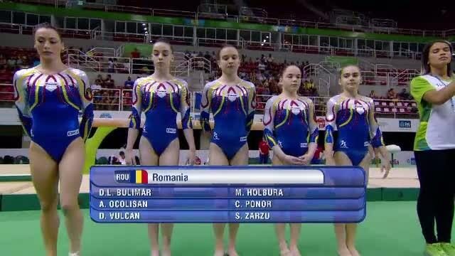 Echipa feminina de gimnastica