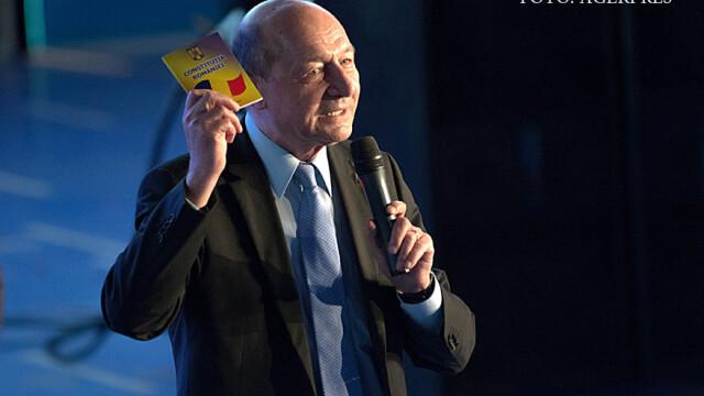 Traian Basescu: Daca ANAF vrea sa fie corect, trebuie sa publice si lista datoriilor statului catre firme si persoane fizice