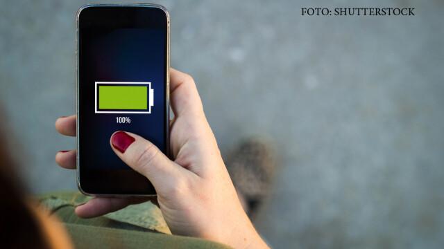 telefon incarcat 100%