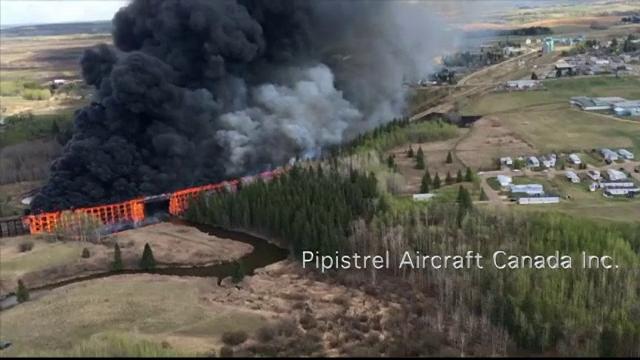 Un incendiu devastator a mistuit un pod de cale ferata, in Canada. Ce s-a intamplat in ultima saptamana, chiar in acelasi loc