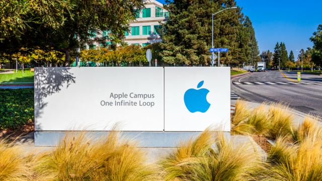 Un barbat a fost gasit mort intr-un sediu al companiei Apple. Ce au descoperit politistii langa el