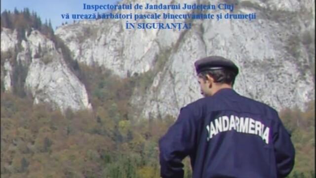 Recomandari ale jandarmilor montani clujeni pentru turistii care vor face drumetii montane de Paste