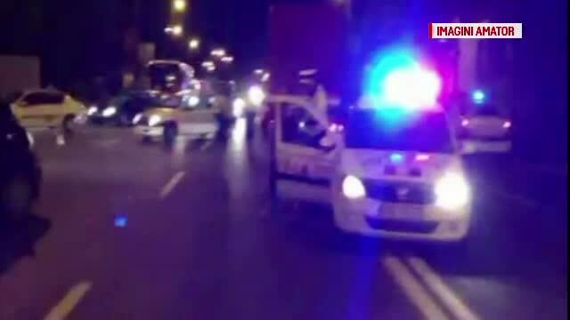 Un politist a ajuns in stare grava la spital, dupa ce a fost lovit de o masina. Agentul se afla in misiune