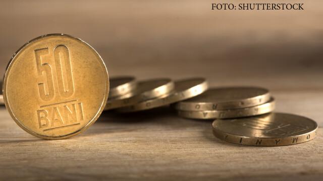 lei romanesti, monede de 50 de bani