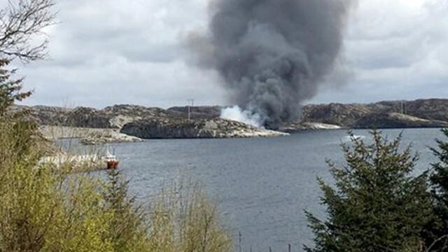 Un elicopter s-a prabusit pe o insula din largul Norvegiei: \