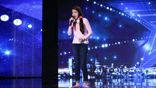 Laura Bretan, finalista Romanii au talent
