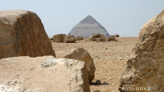 piramida inclinata de la Dahshur