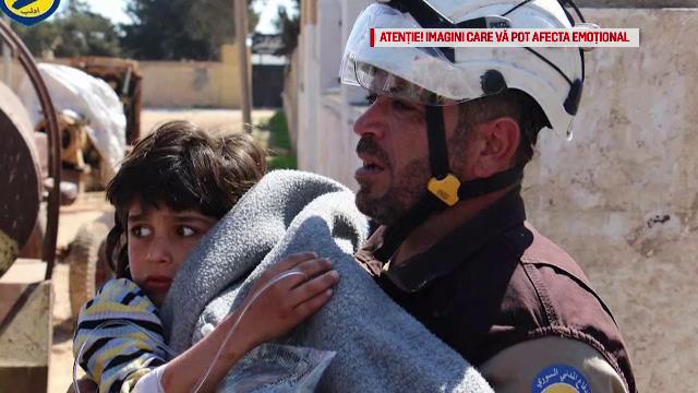 atac chimic Siria - stiri