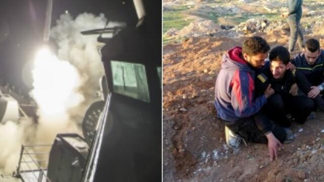 SUA au atacat Siria cu rachete. Discutii aprinse la Consiliul de Securitate al ONU: Rusia a avertizat asupra consecintelor - Imaginea 1