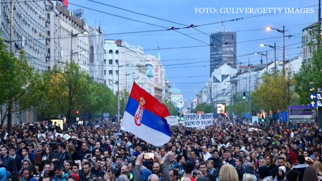 proteste Belgrad
