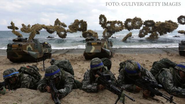exercitiu militar SUA-Coreea de Sud la Pohang