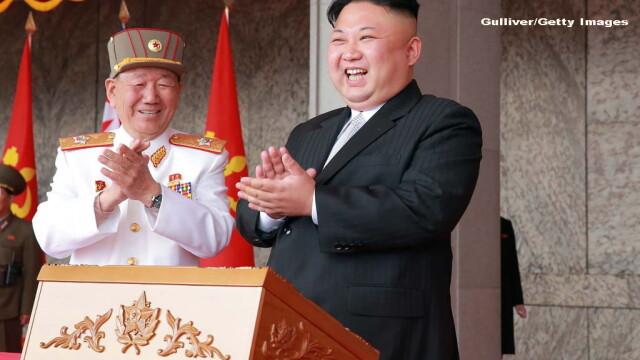 Ce nu s-a vazut la parada militara de forta a Coreei de Nord: