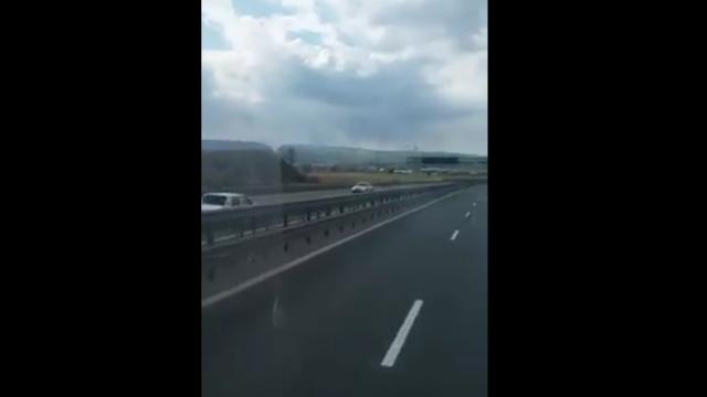 autostrada a3, sofer, contrasens